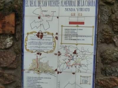 Senda Viriato; Sierra San Vicente; bola del mundo san mames ruta del agua